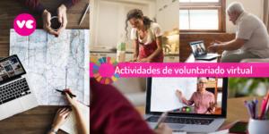 Actividades Voluntariado Virtual por Voluntariado Corporativo de Hazloposible