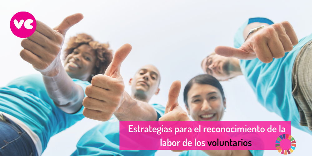 Imagen de voluntarios celebrando su impacto