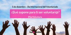 ¿Qué significa para ti ser voluntari@?