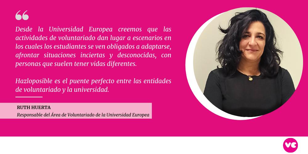 Responsable de voluntariado Universidad Europea